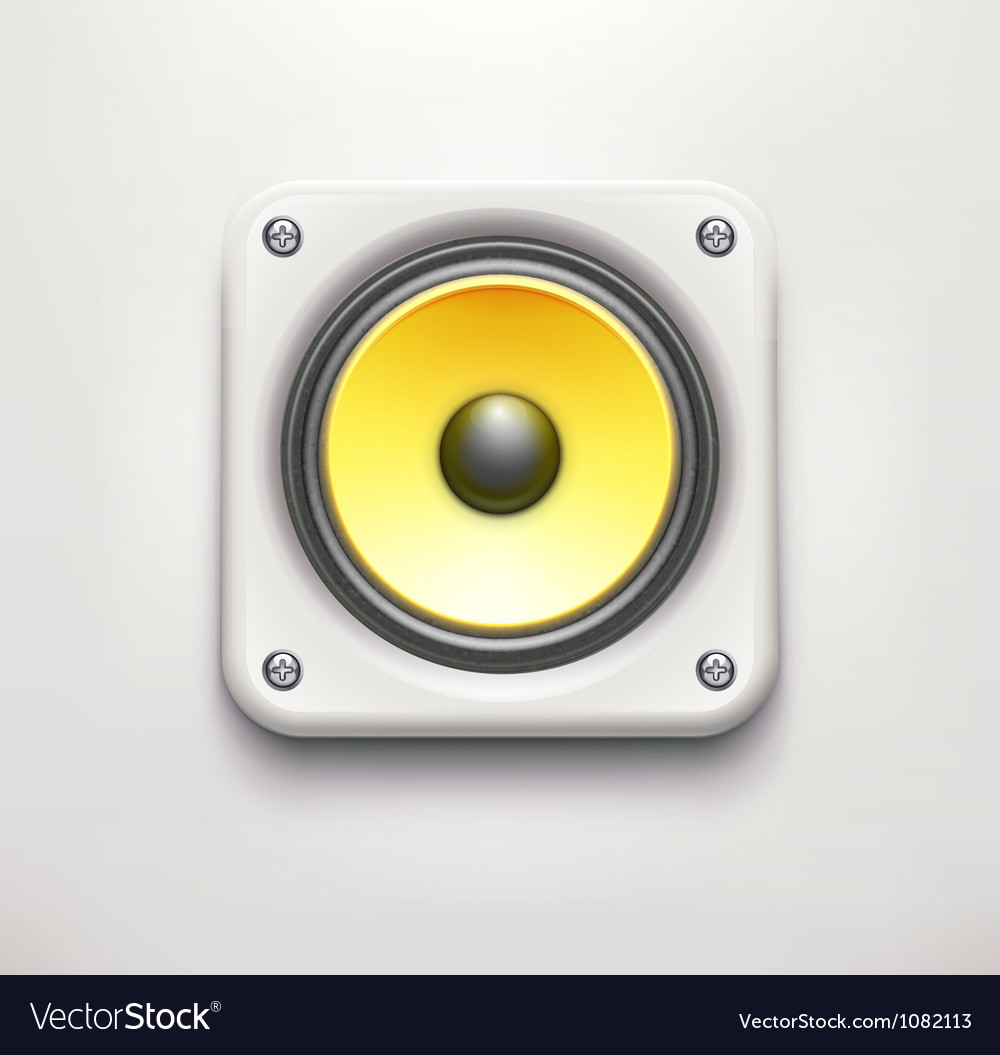 Sound loud speaker icon vector | Price: 1 Credit (USD $1)