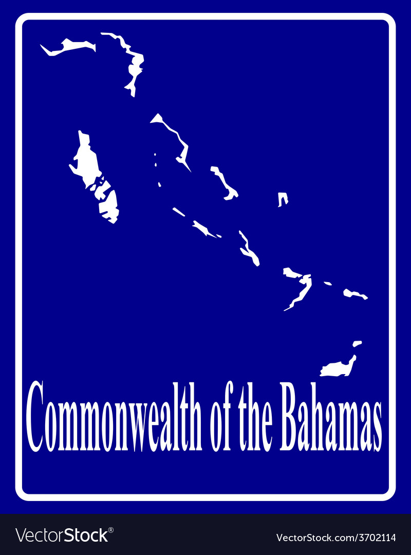 Commonwealth of the bahamas vector | Price: 1 Credit (USD $1)