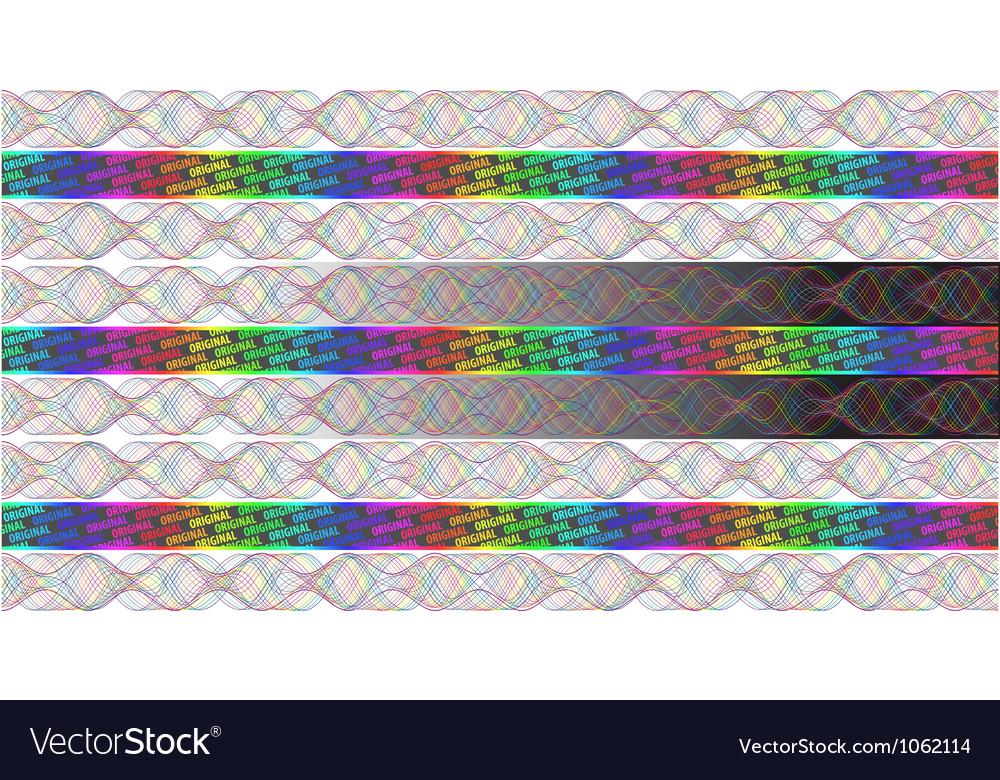 Rainbow hologram vector | Price: 1 Credit (USD $1)
