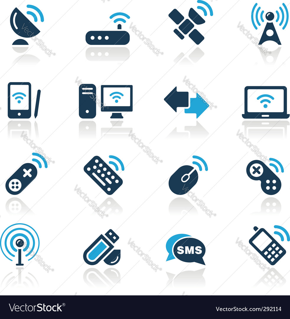 Wireless and communications vector | Price: 1 Credit (USD $1)