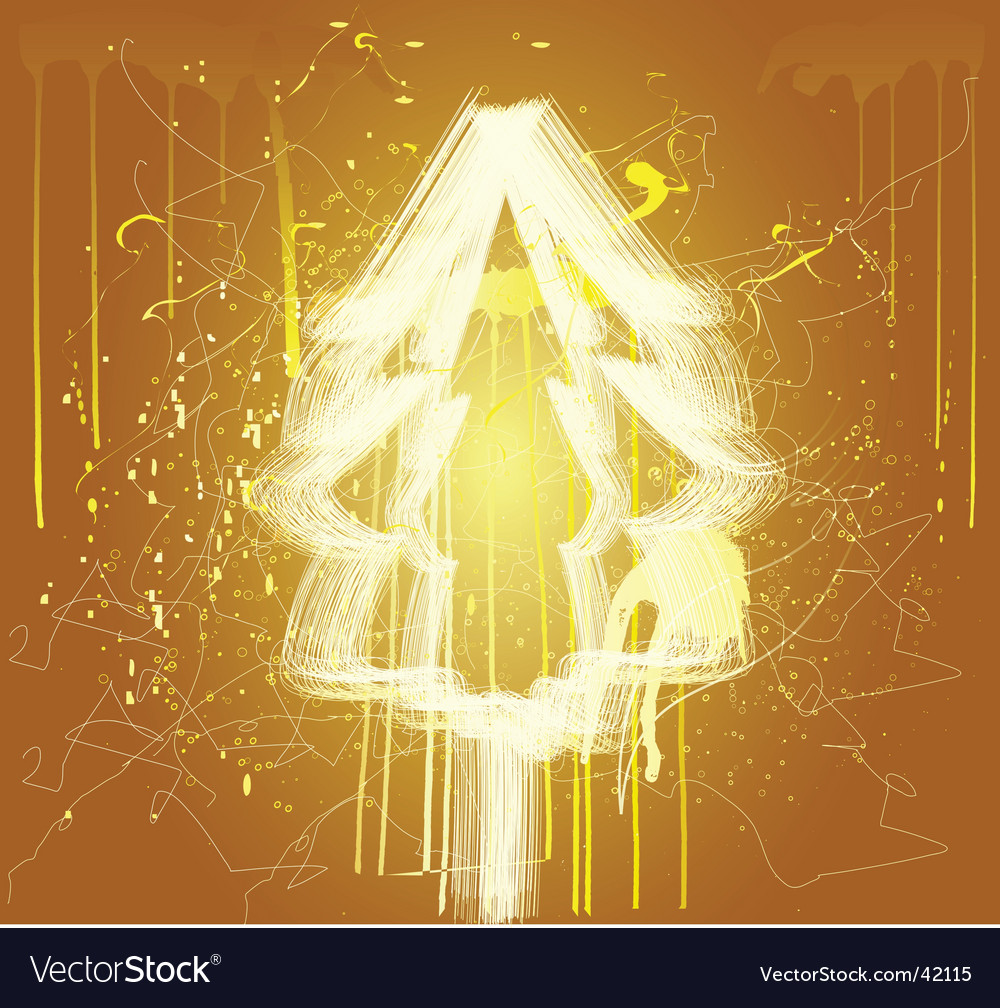 Abstract christmas three vector | Price: 1 Credit (USD $1)
