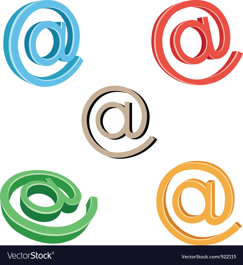 Email symbol vector | Price: 1 Credit (USD $1)