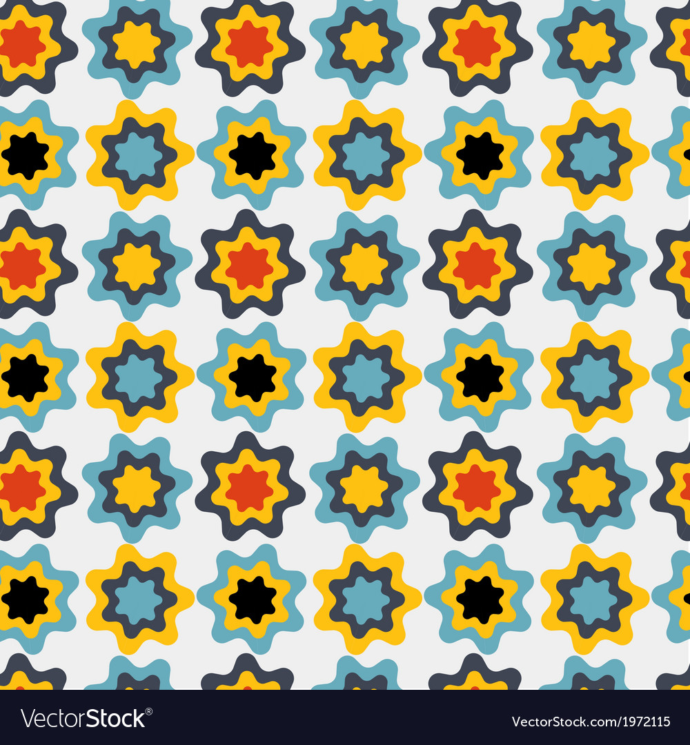 Flower leaves seamless pattern background vector   Price: 1 Credit (USD $1)