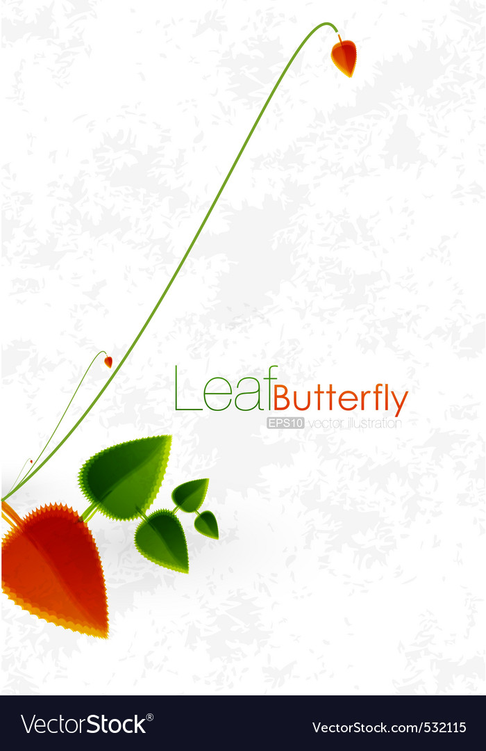 Nature leaf vector | Price: 1 Credit (USD $1)