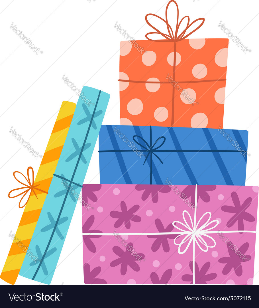 Presents composition vector | Price: 1 Credit (USD $1)
