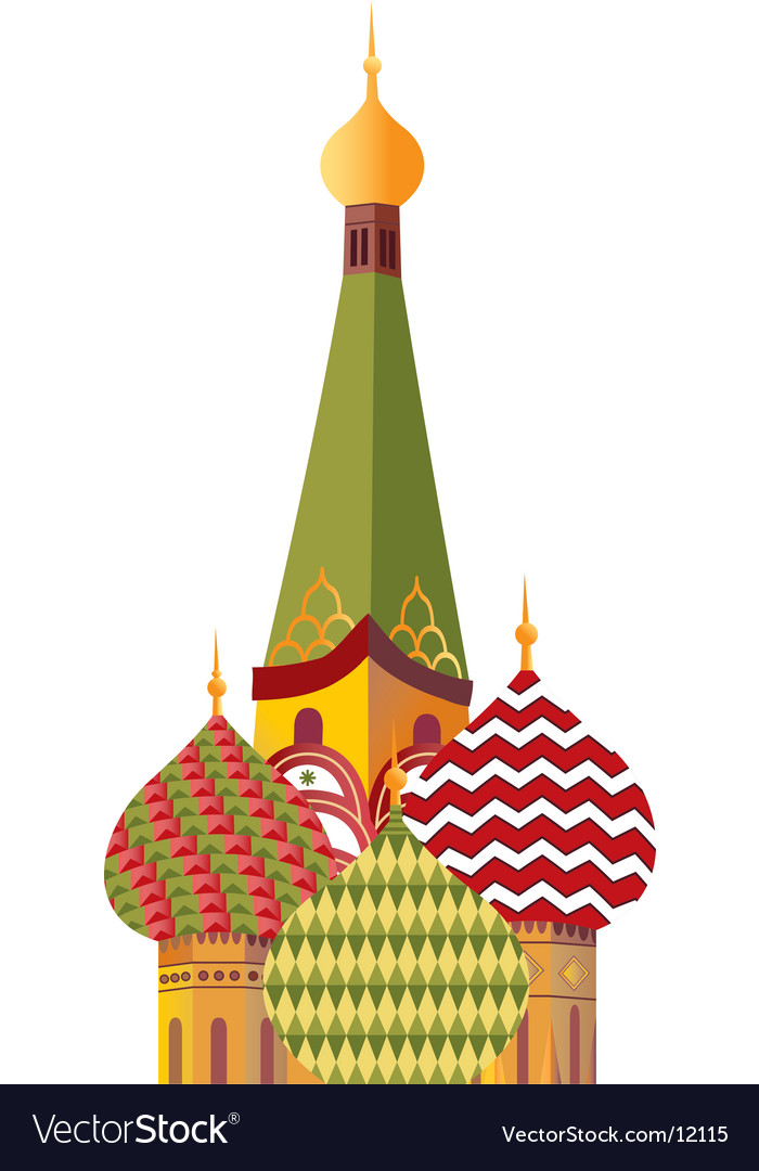 St basil cathedral vector | Price: 3 Credit (USD $3)
