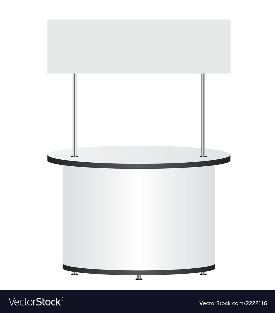 Trade stand vector | Price: 1 Credit (USD $1)