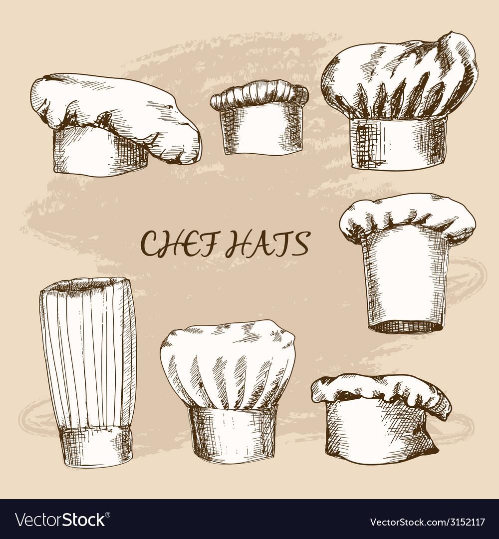 Chef hats vector | Price: 1 Credit (USD $1)