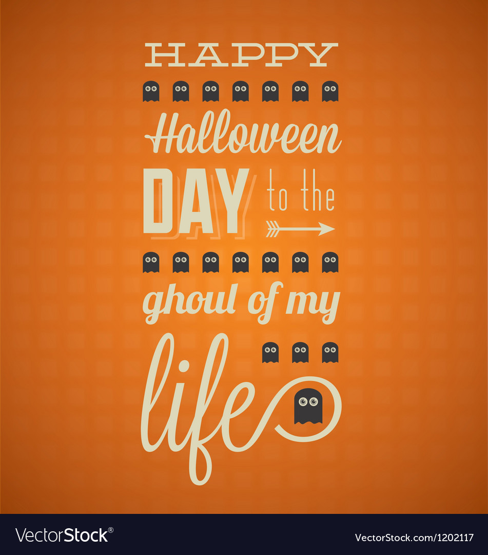 Happy halloween card vector | Price: 3 Credit (USD $3)