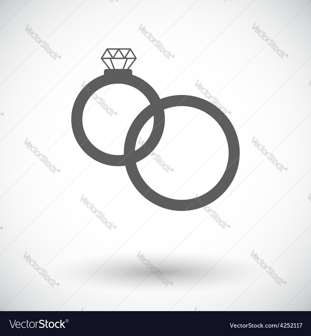 Wedding rings vector | Price: 1 Credit (USD $1)