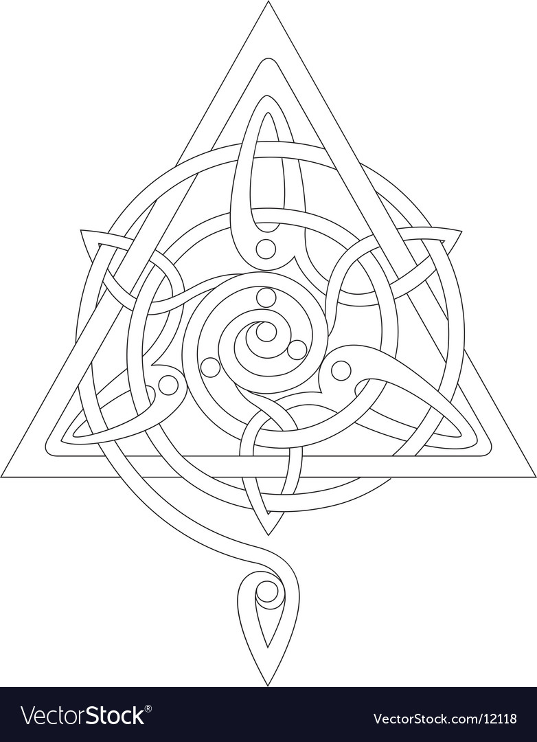 Celtic knot vector | Price: 1 Credit (USD $1)