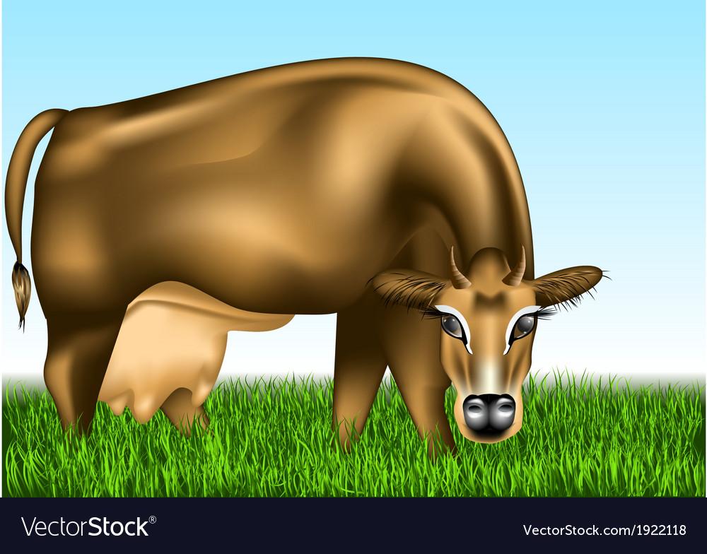 Cow dairy vector | Price: 1 Credit (USD $1)