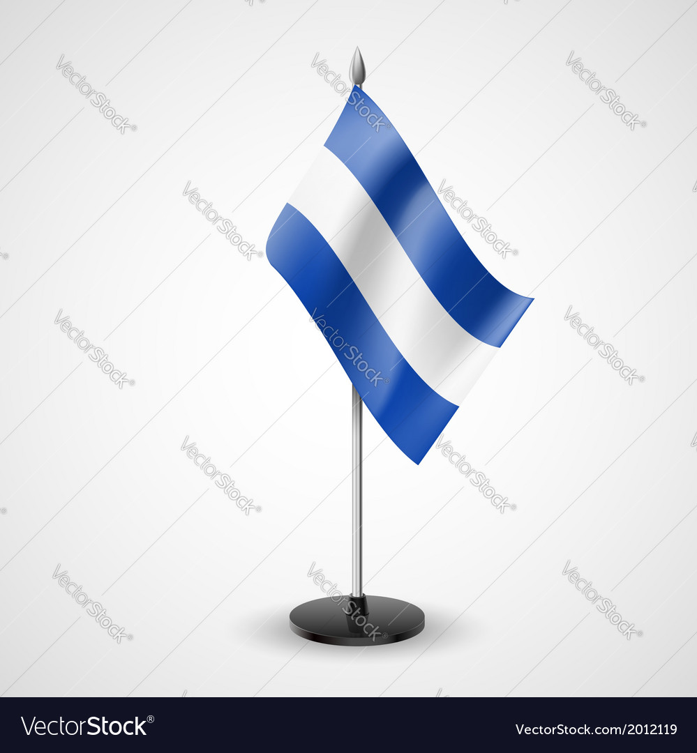 Table flag of el salvador vector | Price: 1 Credit (USD $1)