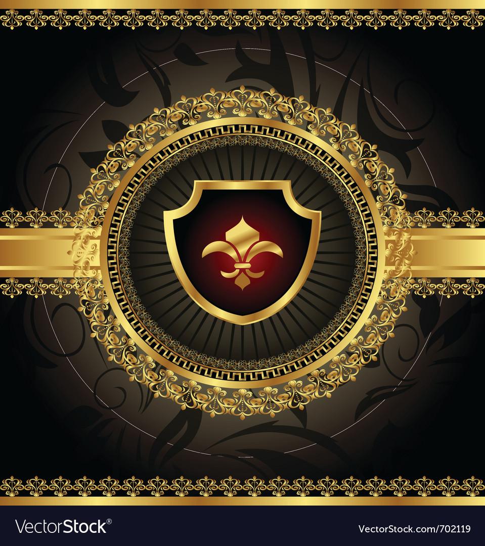 Vintage with heraldic elements - vector   Price: 1 Credit (USD $1)