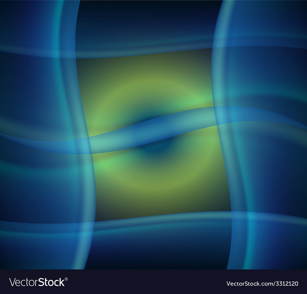 Abstract design creativity background of blue wave vector | Price: 1 Credit (USD $1)