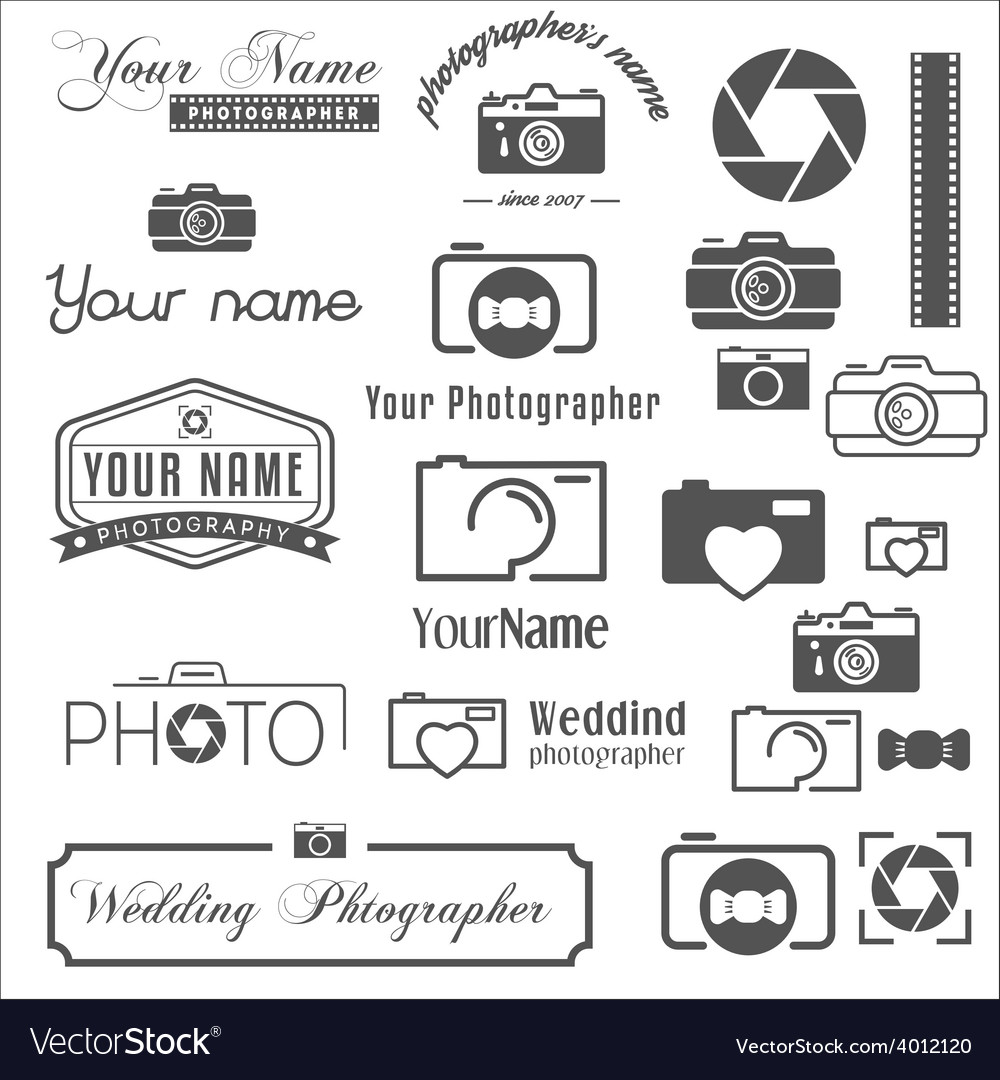Collection of vintage retro and modern logo vector | Price: 1 Credit (USD $1)