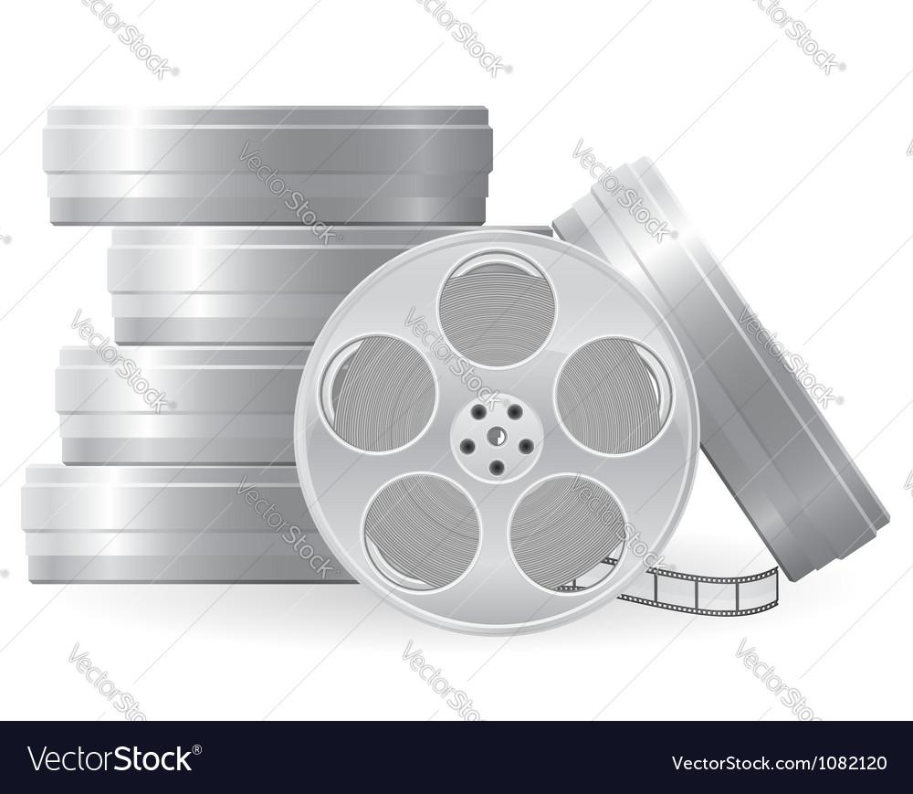 Movie reel vector | Price: 1 Credit (USD $1)