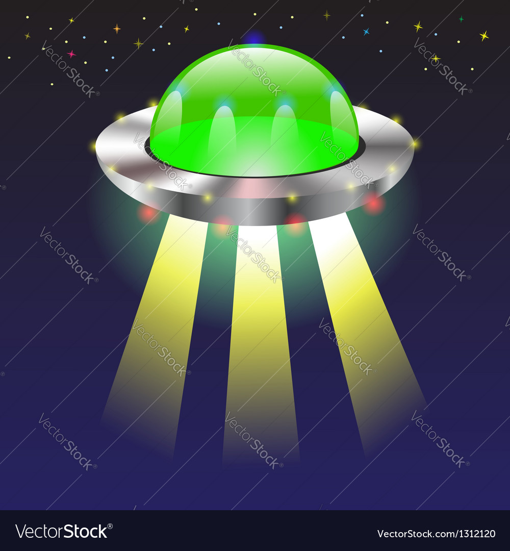 Spaceship vector | Price: 1 Credit (USD $1)