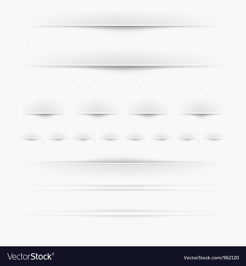 Webpage dividers vector | Price: 1 Credit (USD $1)