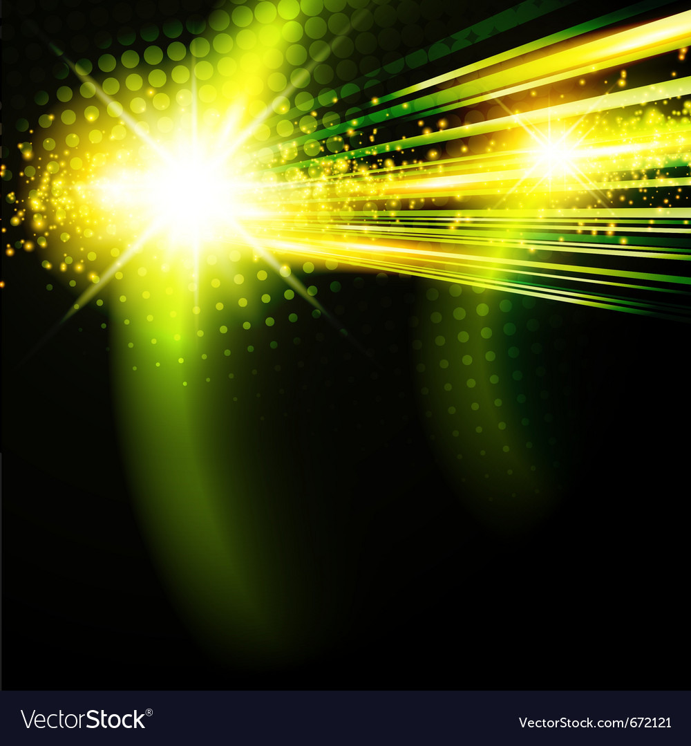 Abstract green disco background vector | Price: 1 Credit (USD $1)
