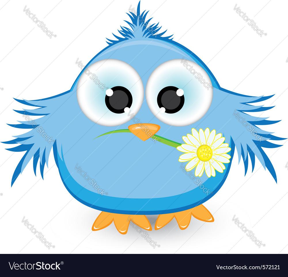Blue sparrow vector   Price: 1 Credit (USD $1)