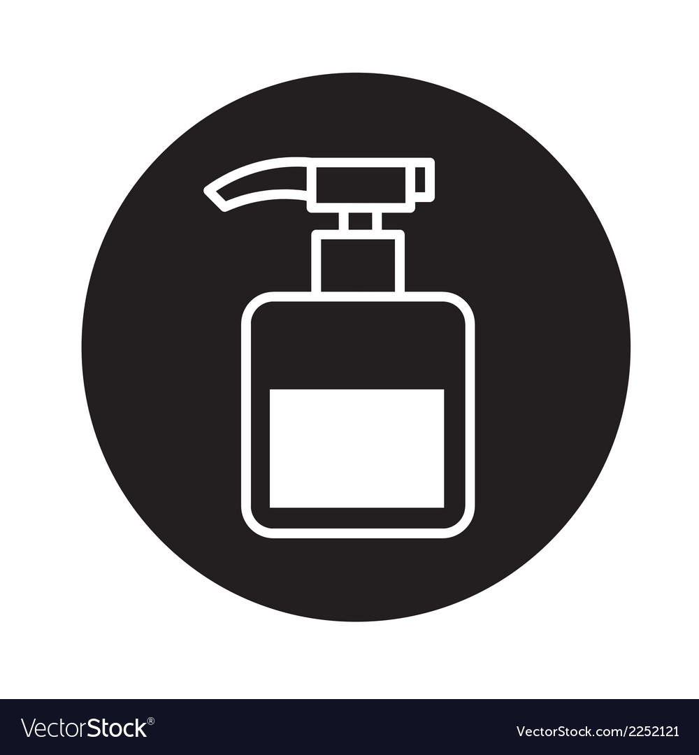 Pump bottle icon vector | Price: 1 Credit (USD $1)