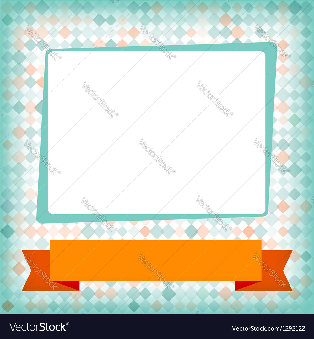 Greeting card or invitation with spots pattern vector | Price: 1 Credit (USD $1)