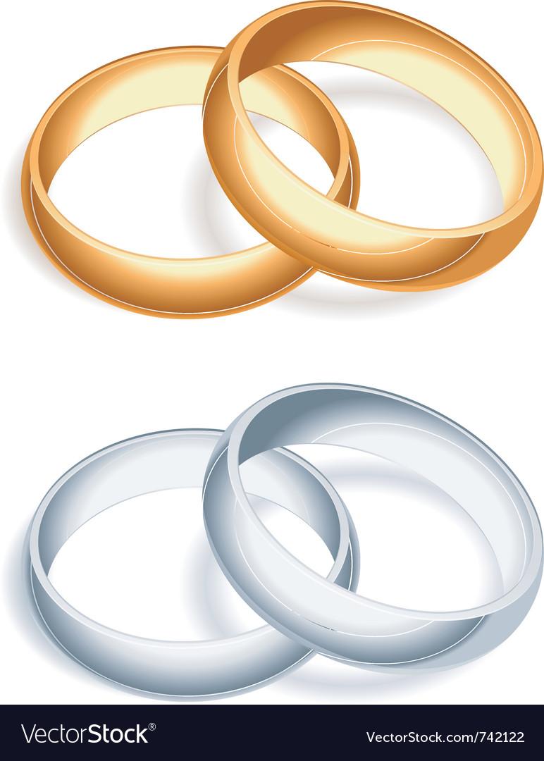 Wedding rings vector   Price: 1 Credit (USD $1)