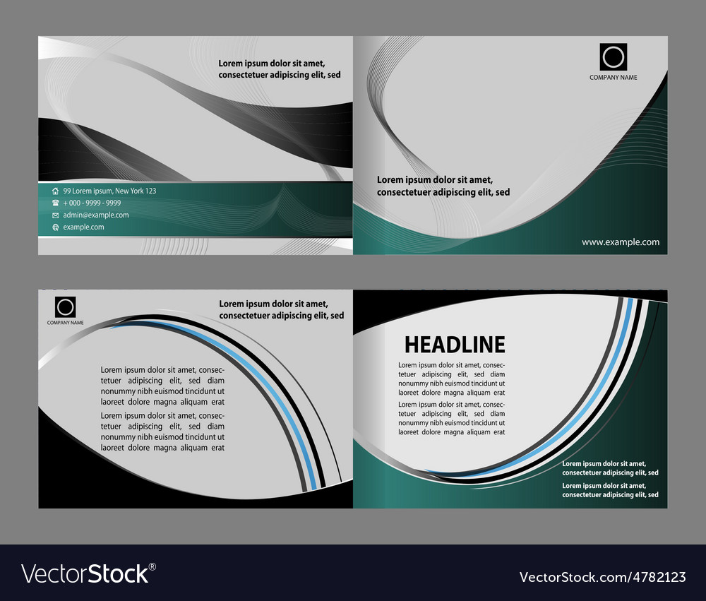 Abstract design template layout for magazin vector   Price: 1 Credit (USD $1)