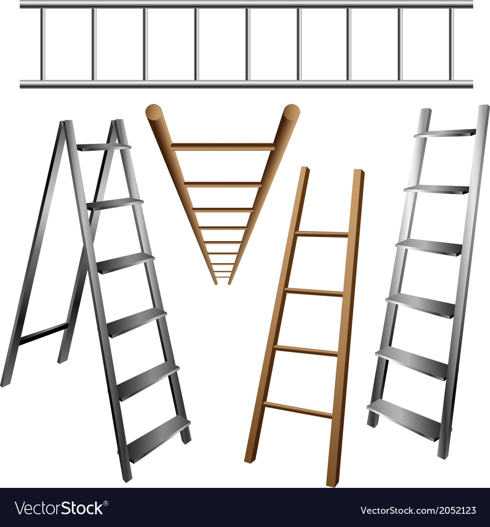 Ladder set vector | Price: 1 Credit (USD $1)