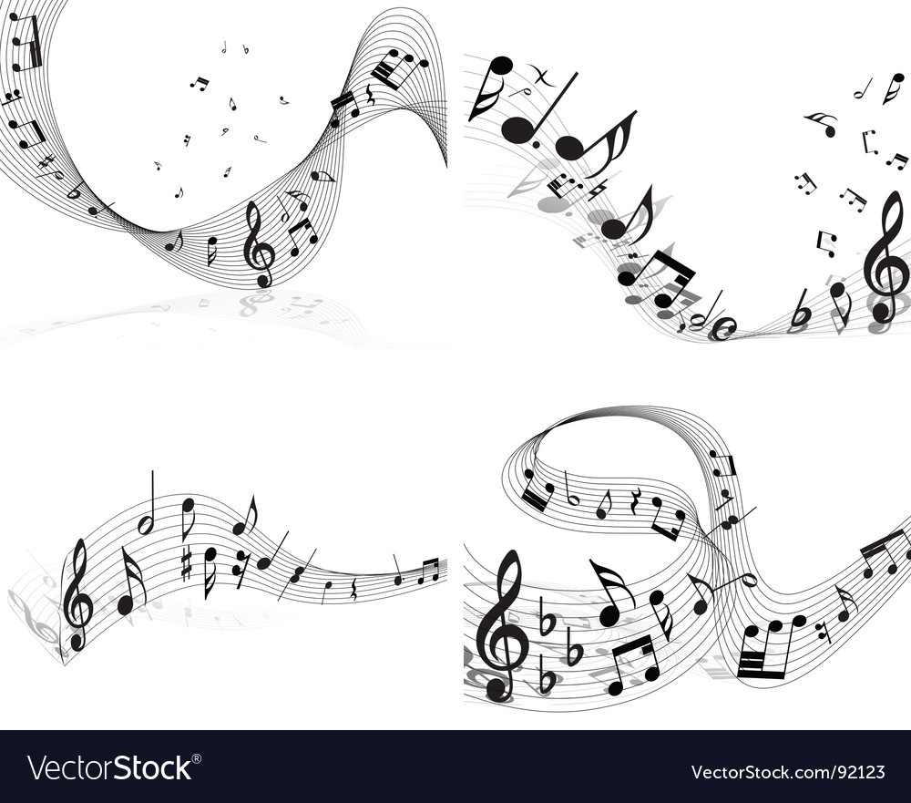 Musical notes vector   Price: 1 Credit (USD $1)
