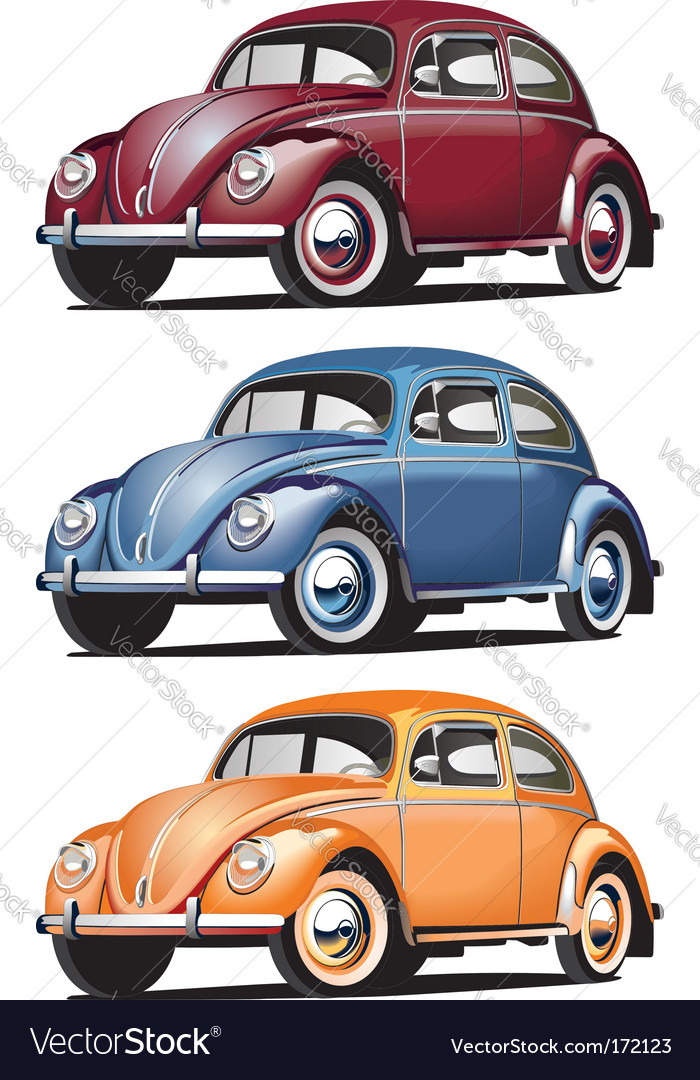 Vw beetle vector | Price: 3 Credit (USD $3)