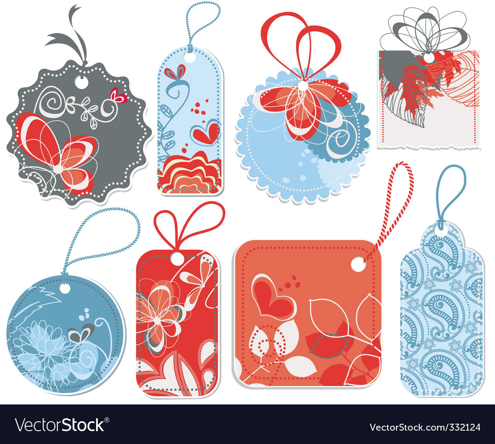 Cute price tags vector | Price: 1 Credit (USD $1)