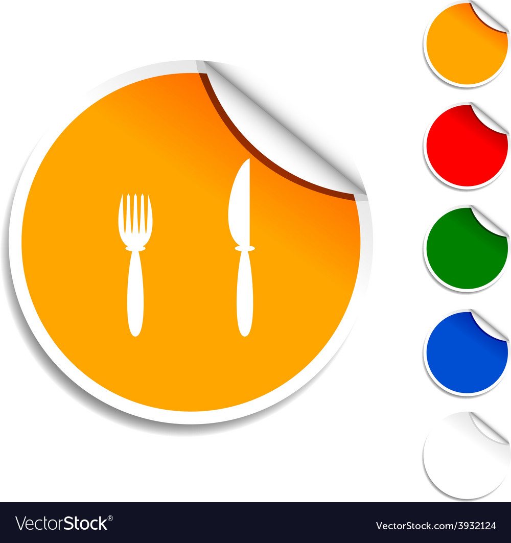 Dinner icon vector | Price: 1 Credit (USD $1)
