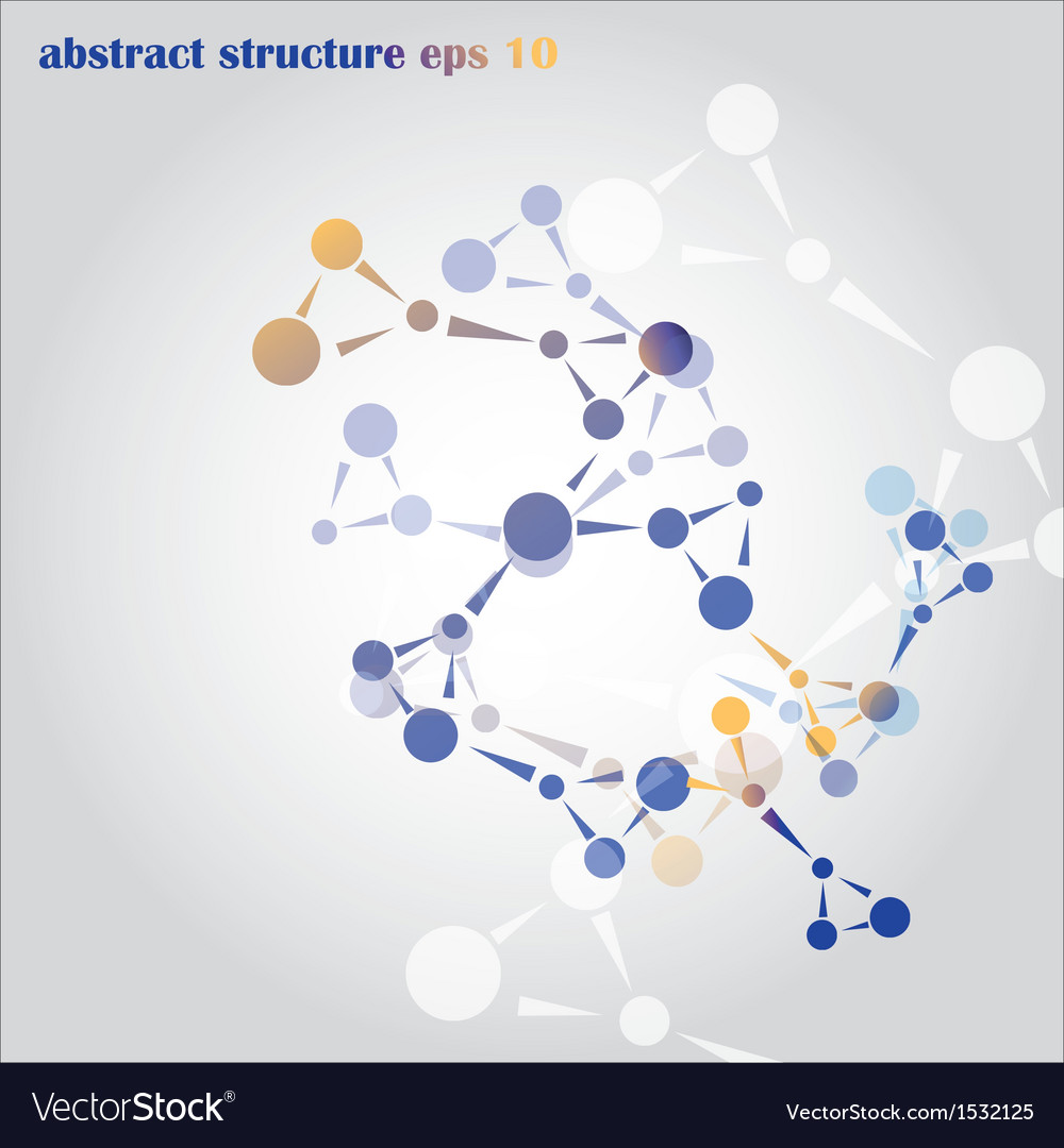 Abstract structure vector | Price: 1 Credit (USD $1)