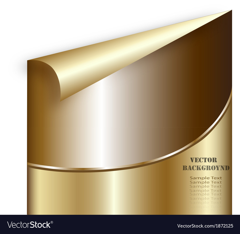 Creative technological background golden abstract vector | Price: 1 Credit (USD $1)