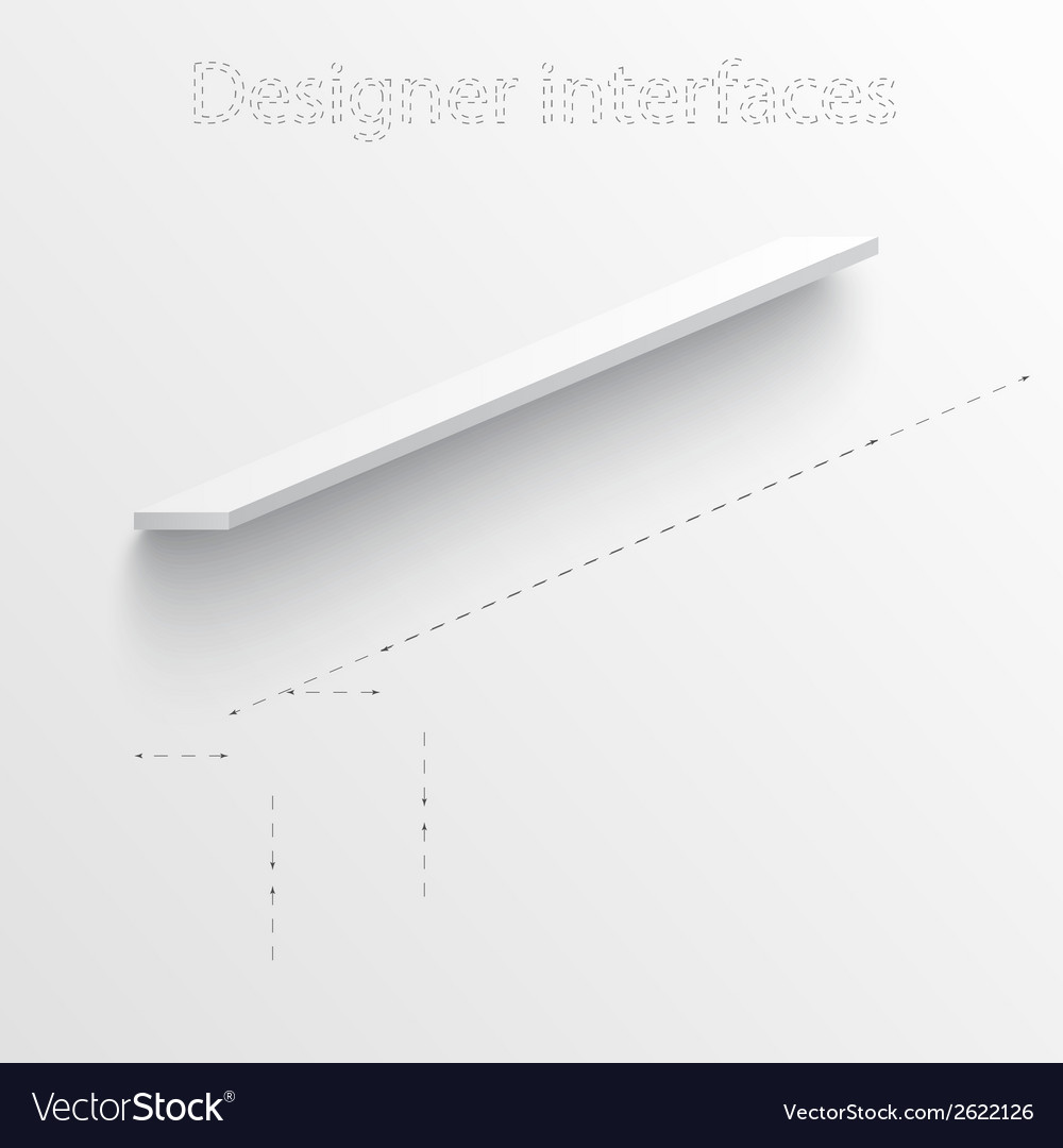 3d plan and board design interface vector | Price: 1 Credit (USD $1)