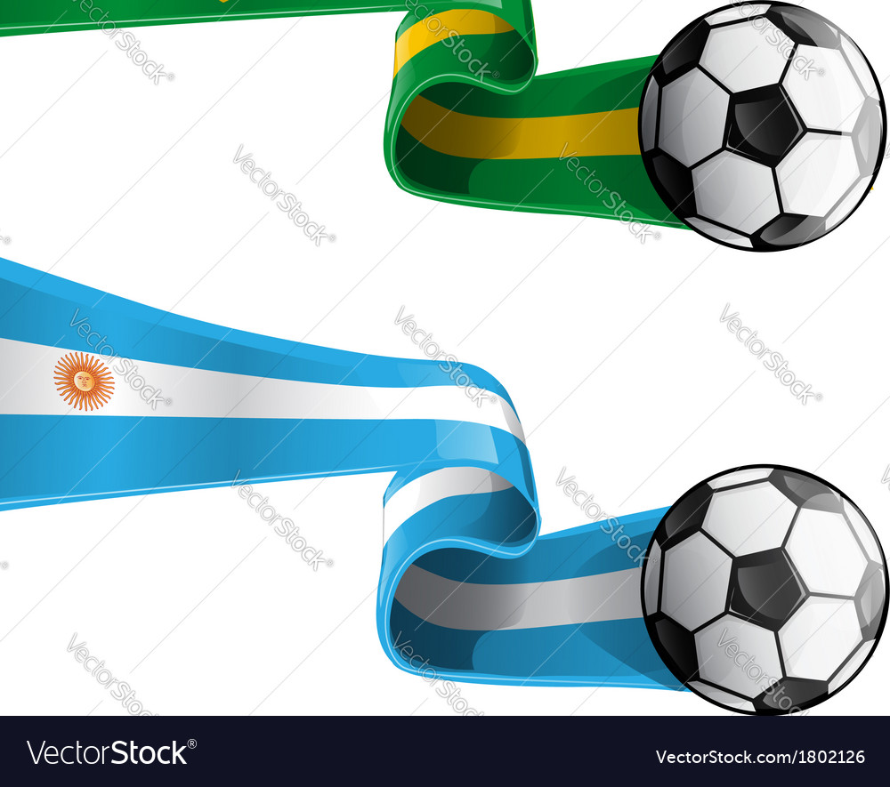 Brazil argentina vector | Price: 1 Credit (USD $1)