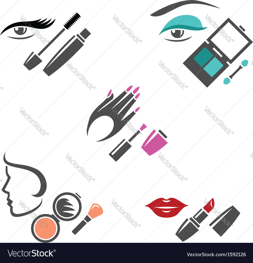 Makeup vector | Price: 1 Credit (USD $1)