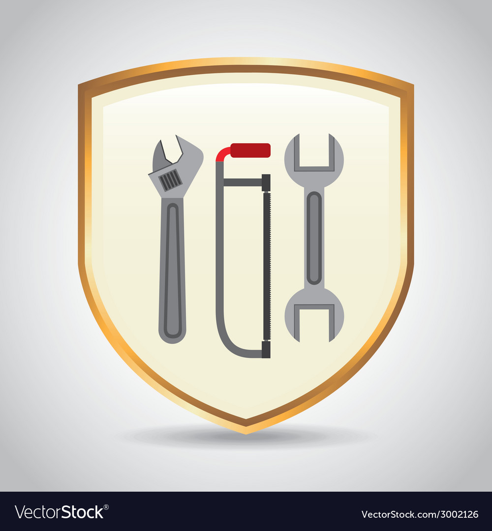 Tools design vector | Price: 1 Credit (USD $1)