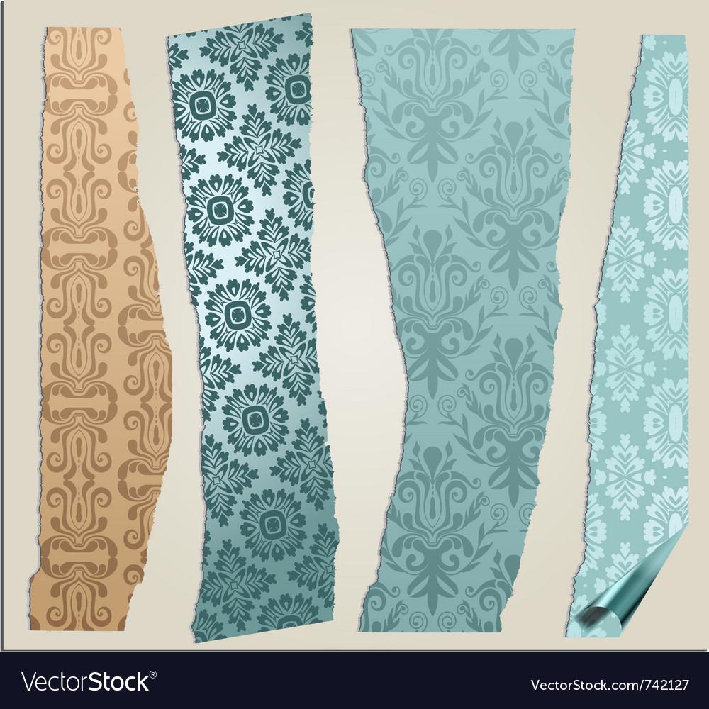 4 cracked wallpaper set vector   Price: 1 Credit (USD $1)