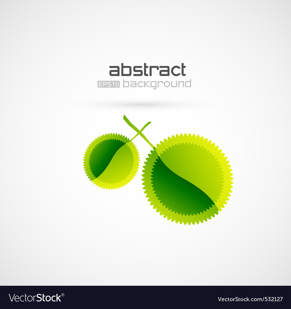 Abstract leaf vector | Price: 1 Credit (USD $1)