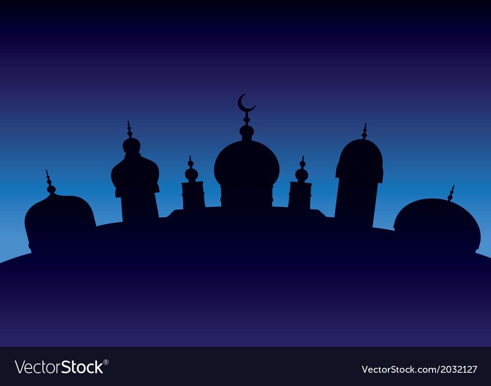 Arabian city 7 vector | Price: 1 Credit (USD $1)