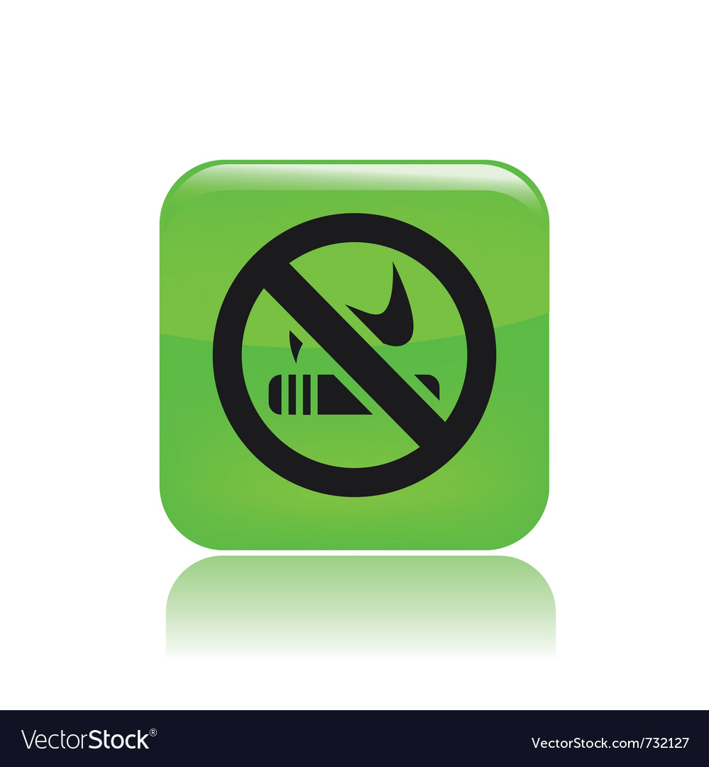 Forbidden smoking single vector | Price: 1 Credit (USD $1)