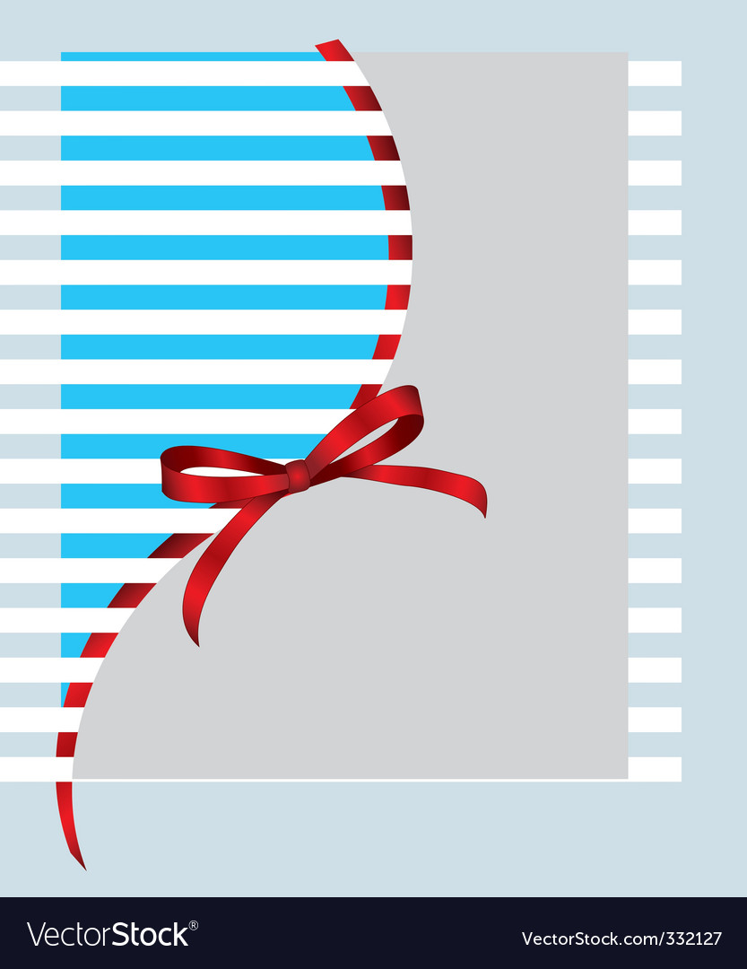 Giftwrap bow vector | Price: 1 Credit (USD $1)