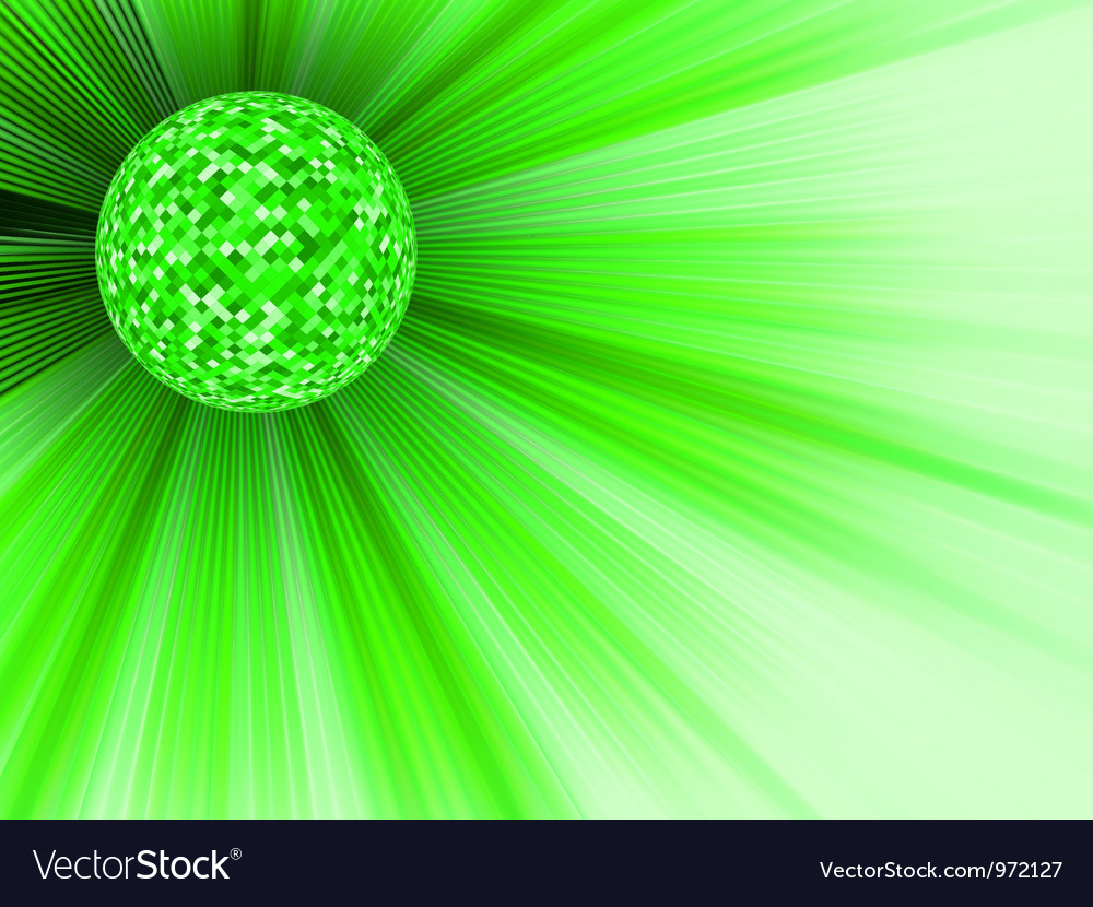 Party banner with disco ball eps 8 vector | Price: 1 Credit (USD $1)