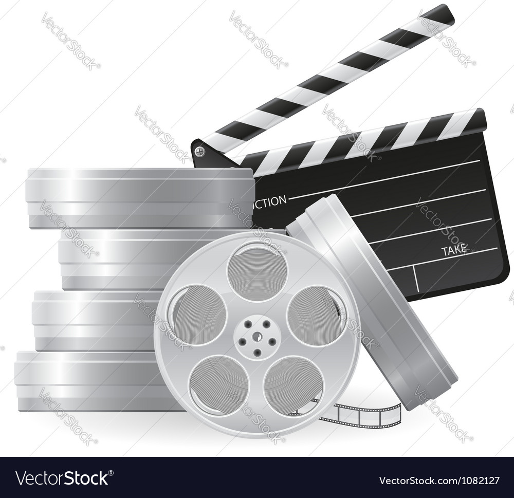 Set icons cinema 01 vector | Price: 1 Credit (USD $1)