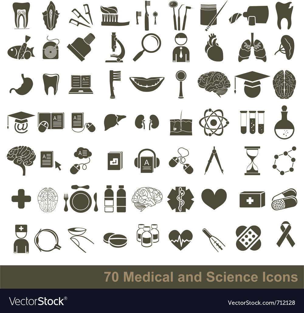 Doctor icons vector | Price: 1 Credit (USD $1)