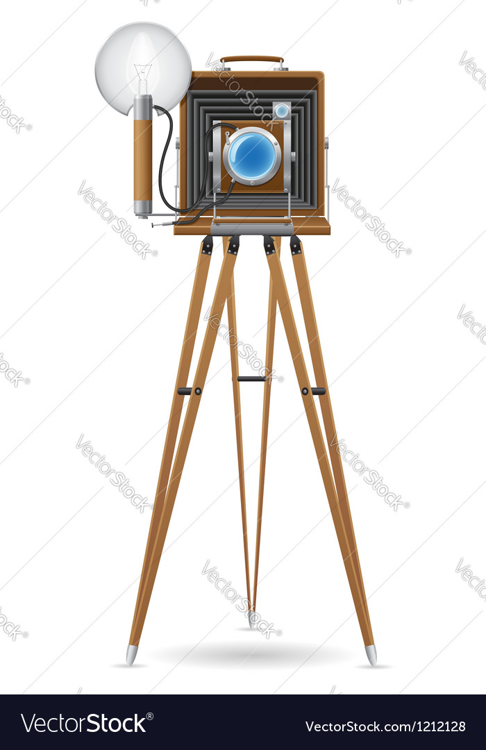 Old camera 02 vector | Price: 3 Credit (USD $3)