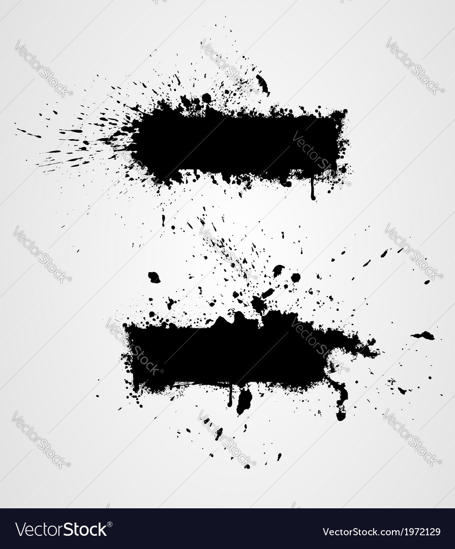 Two grunge banners vector | Price: 1 Credit (USD $1)